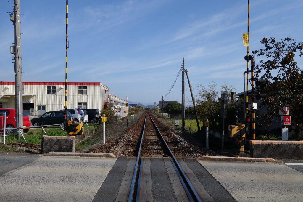 JR山口線の線路