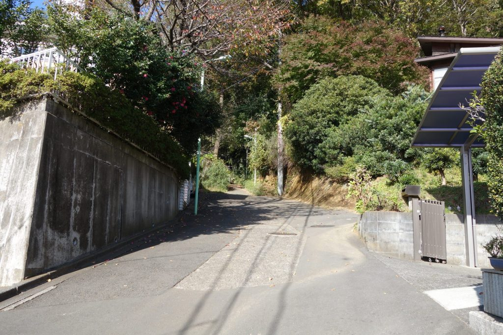 野津田車庫周辺