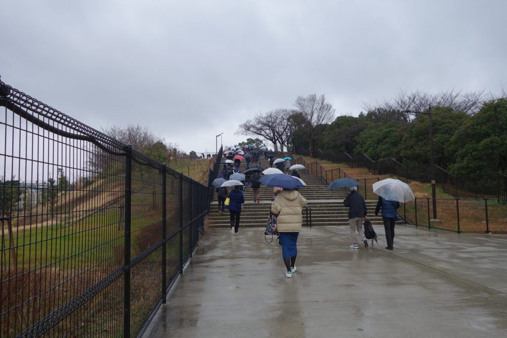 吹田スタジアムへの道のり