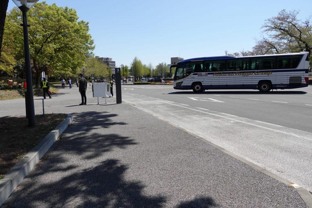 正田醤油スタジアムのシャトルバス