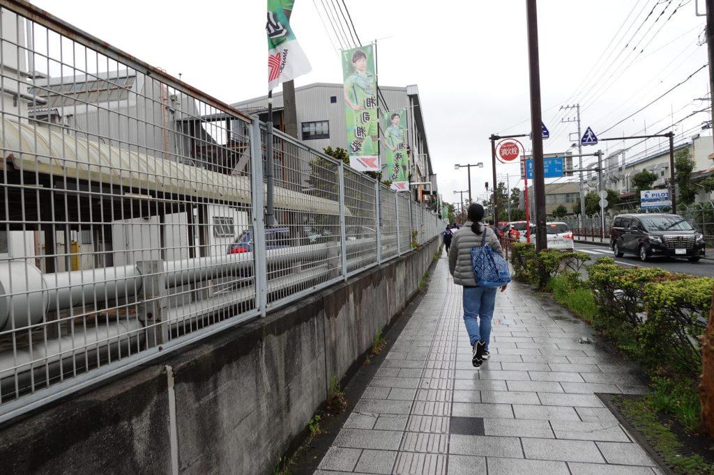 平塚駅からスタジアムへ