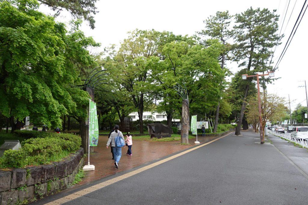 平塚市総合公園前