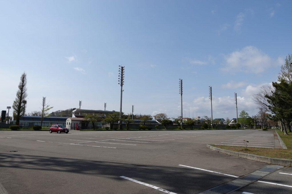 八橋運動公園 第1駐車場