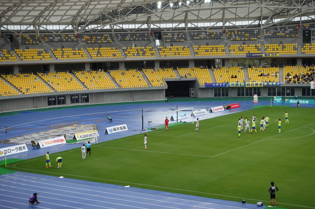 栃木SC vs ギラヴァンツ北九州