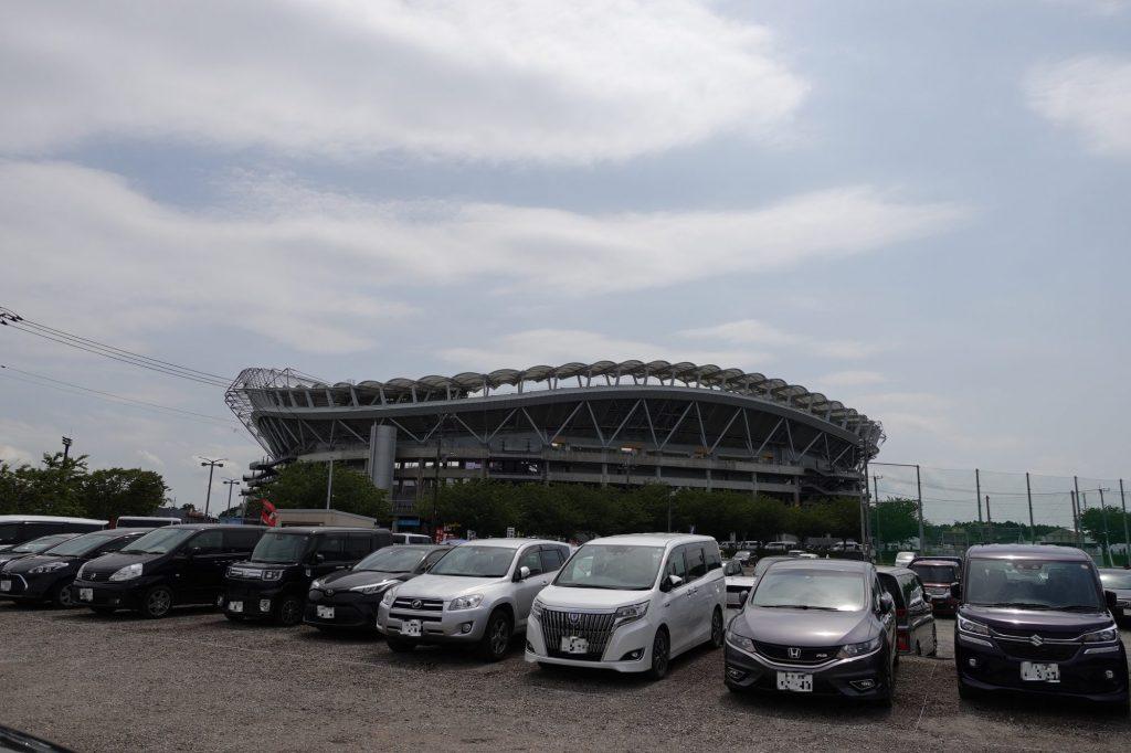 カシマサッカースタジアム周辺 民間駐車場