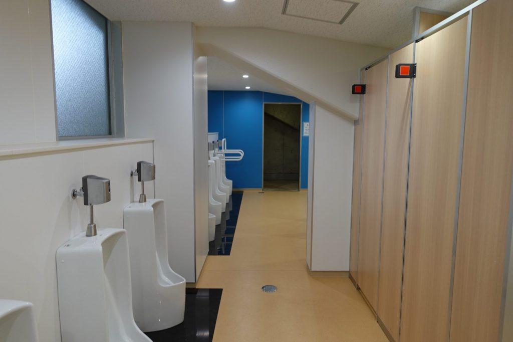 カシマサッカースタジアムのトイレ