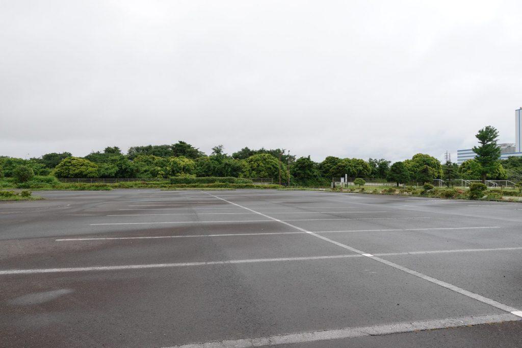ひたちなか市総合運動公園 南駐車場前
