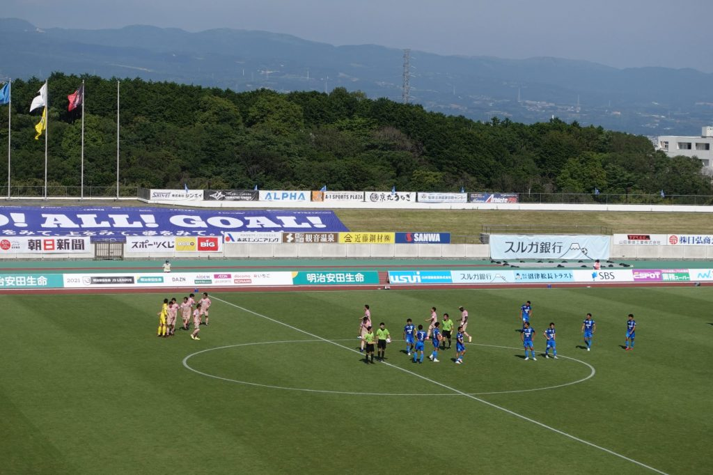 アスルクラロ沼津vs福島ユナイテッドFC