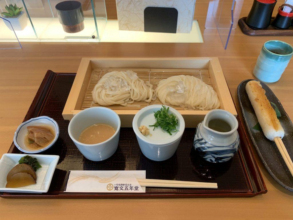 乾麵・生麺味比べ、味噌たんぽ