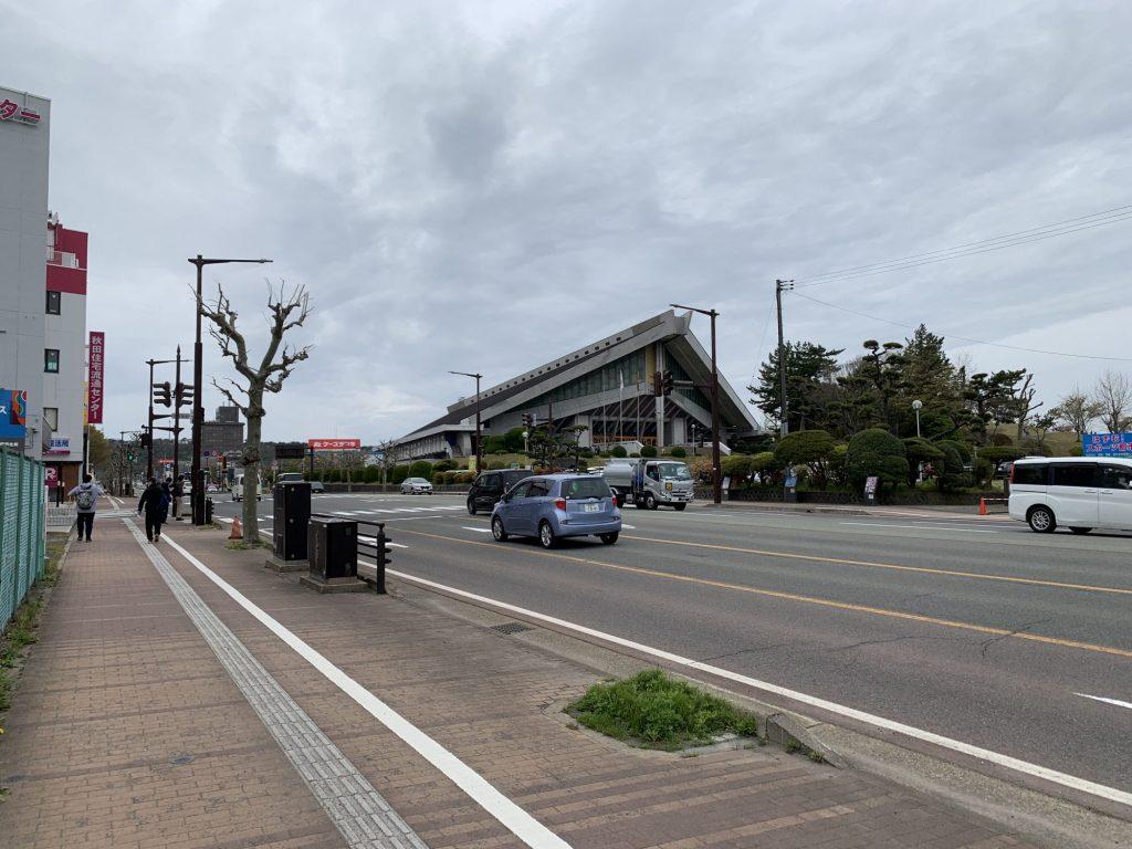 文化会館八橋球場前