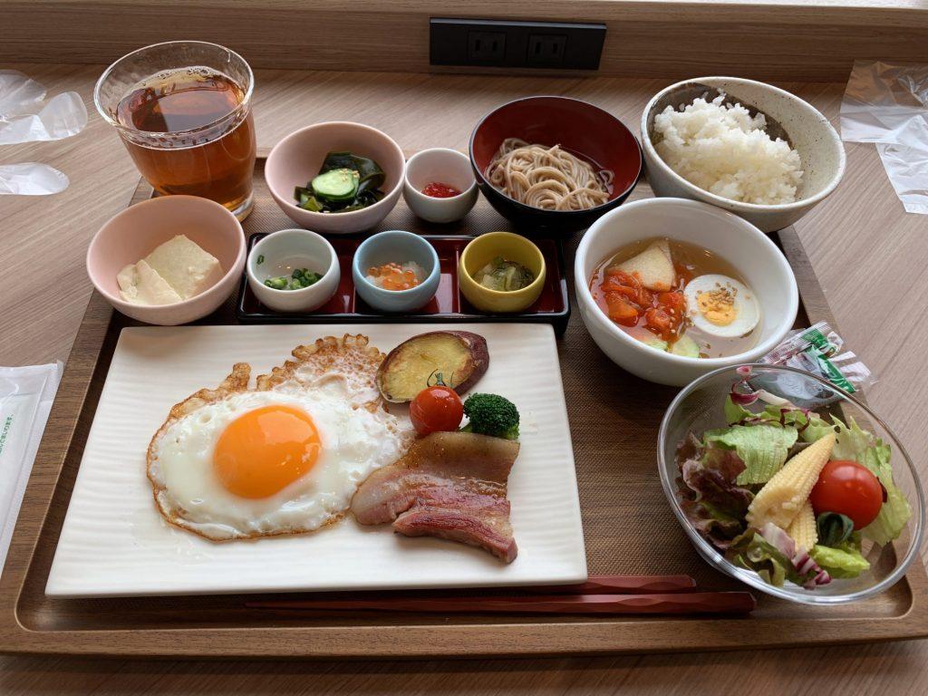 リッチモンドホテル盛岡駅前の朝食