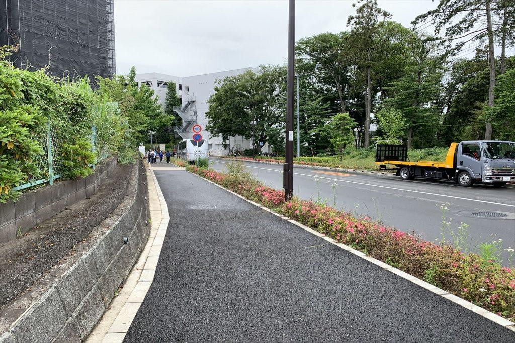 南町田グランベリーパーク駅前のシャトルバス乗り場