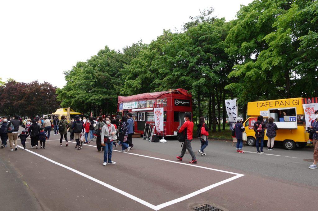 札幌厚別公園競技場 スタジアムグルメ