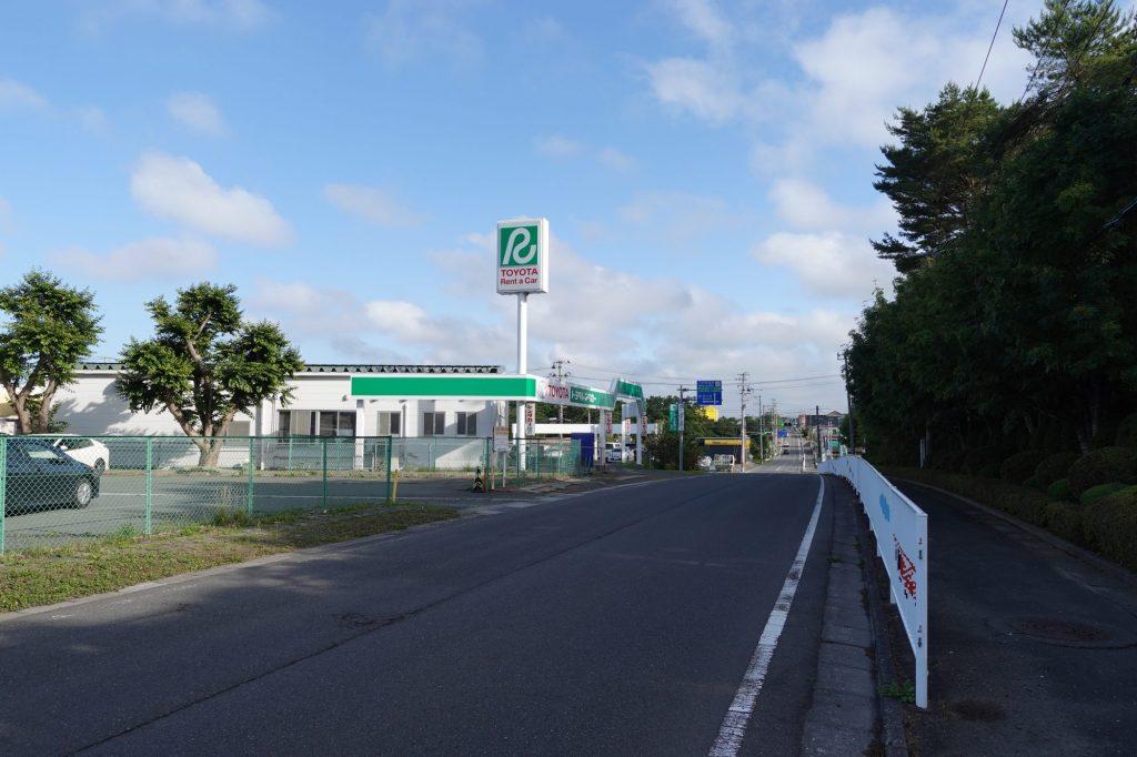 三沢空港前
