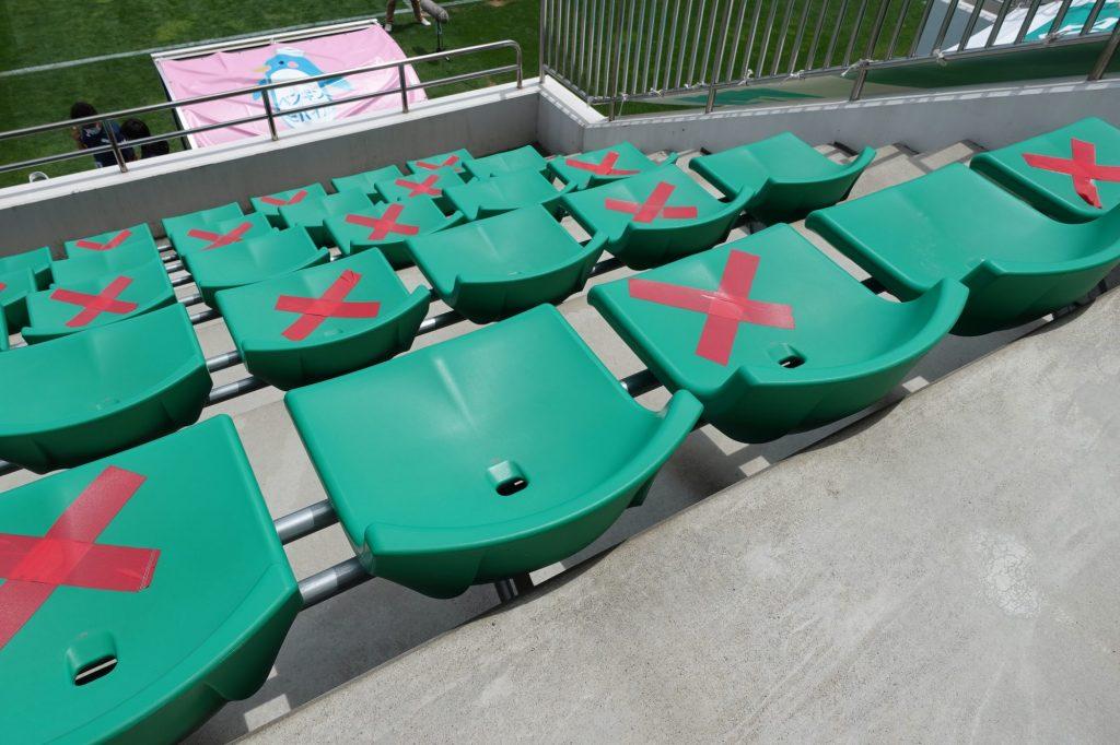 プライフーズスタジアムのメインスタンド座席