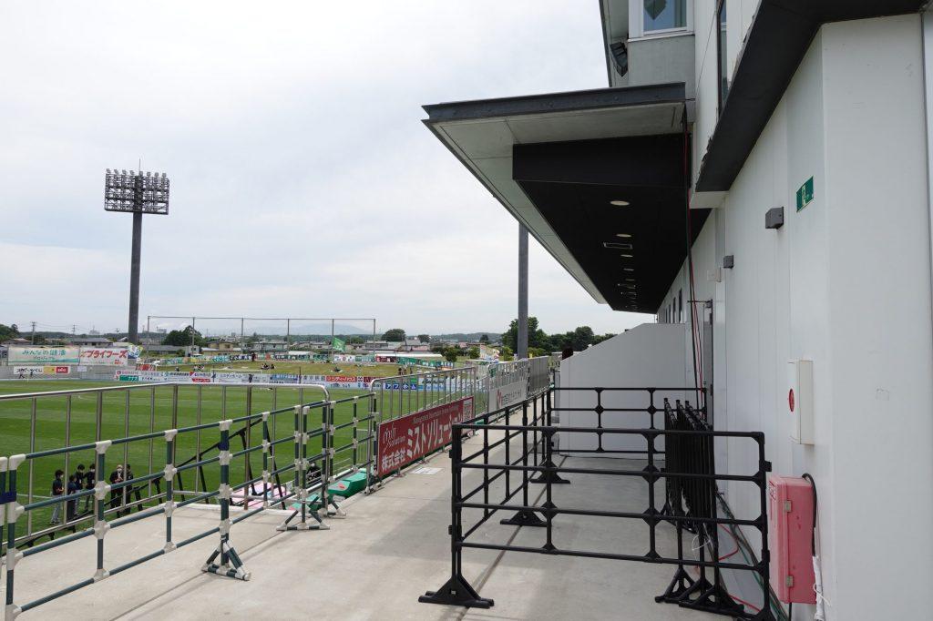 プライフーズスタジアムのメインスタンド