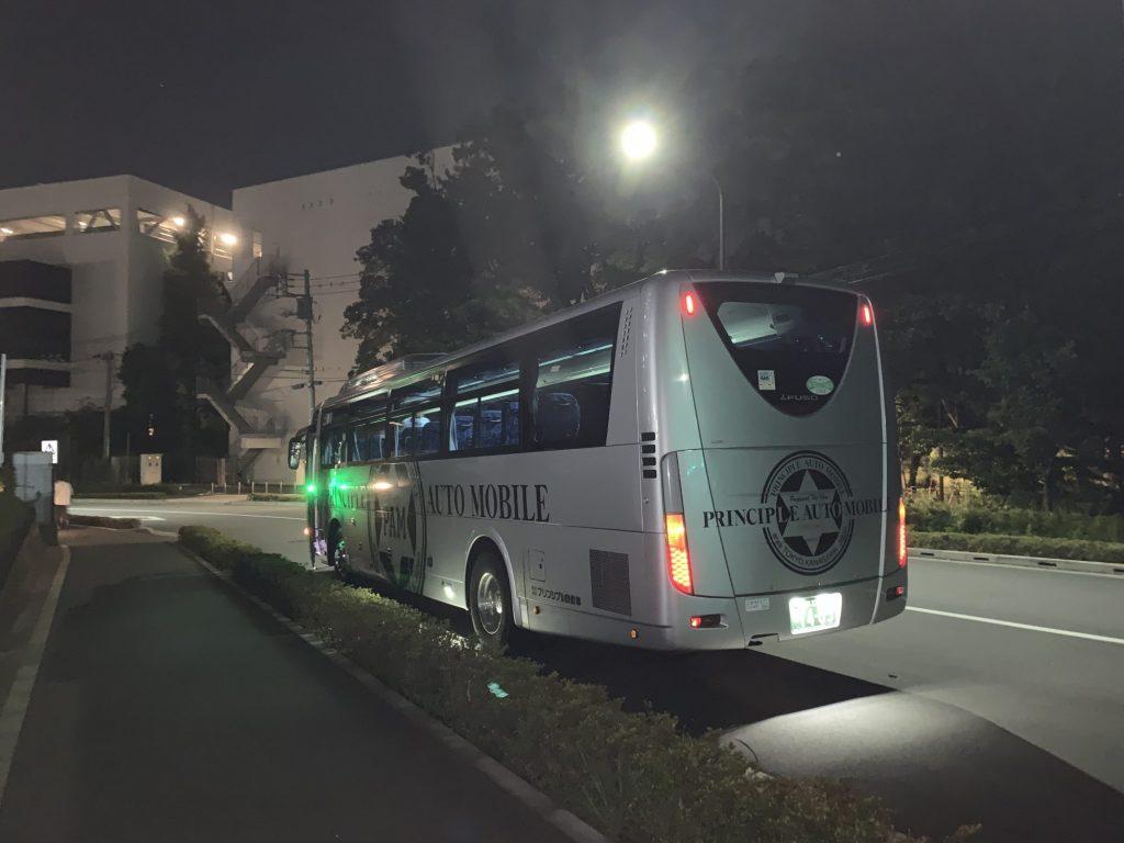 南町田グランベリーパークへのシャトルバス