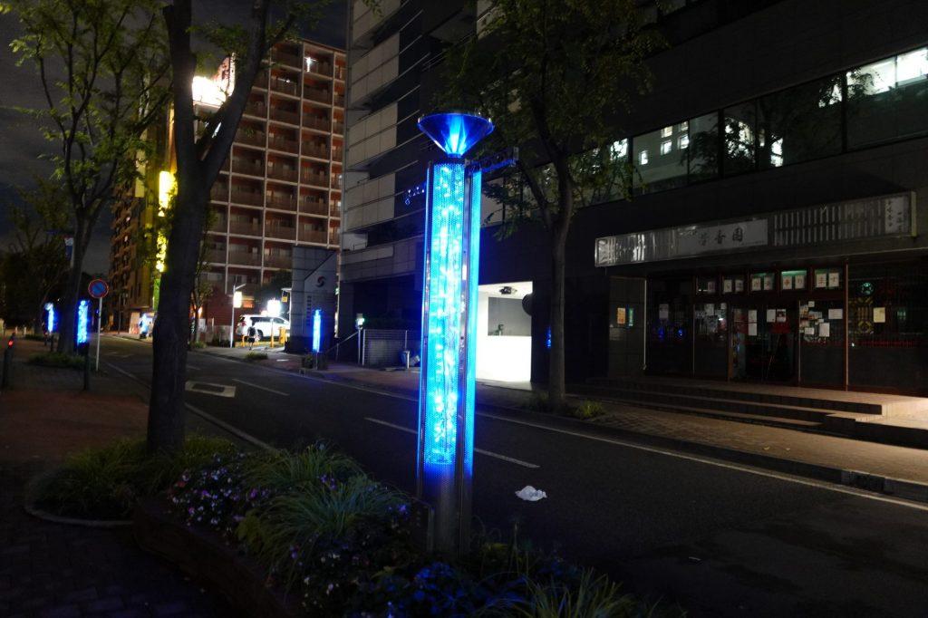 新横浜駅付近