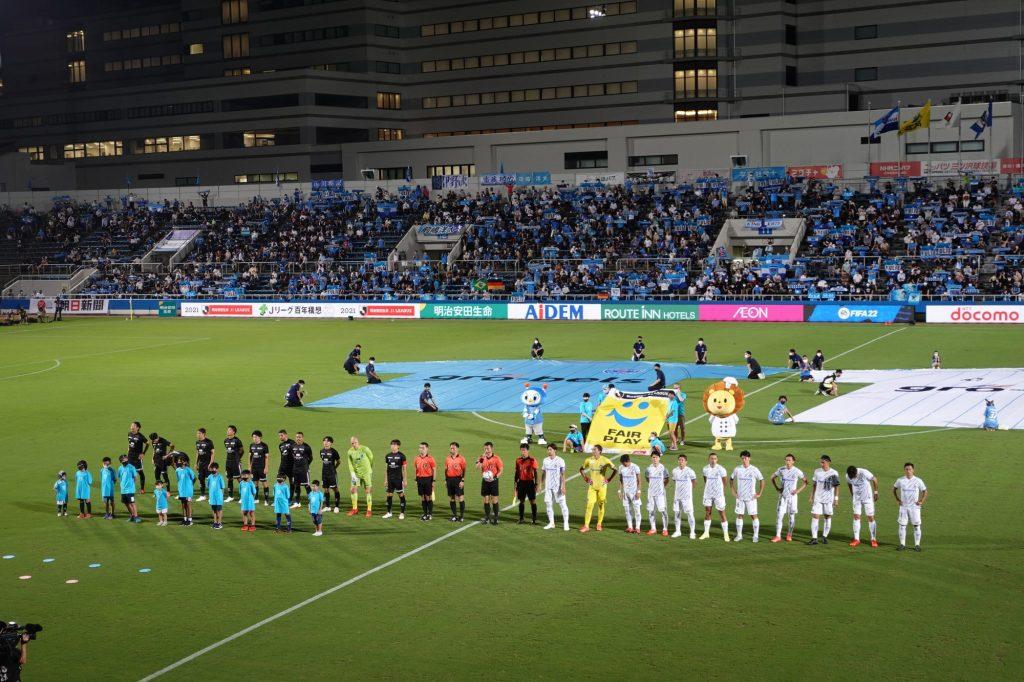 横浜FCvsガンバ大阪