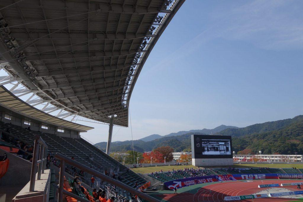 維新みらいふスタジアムの屋根