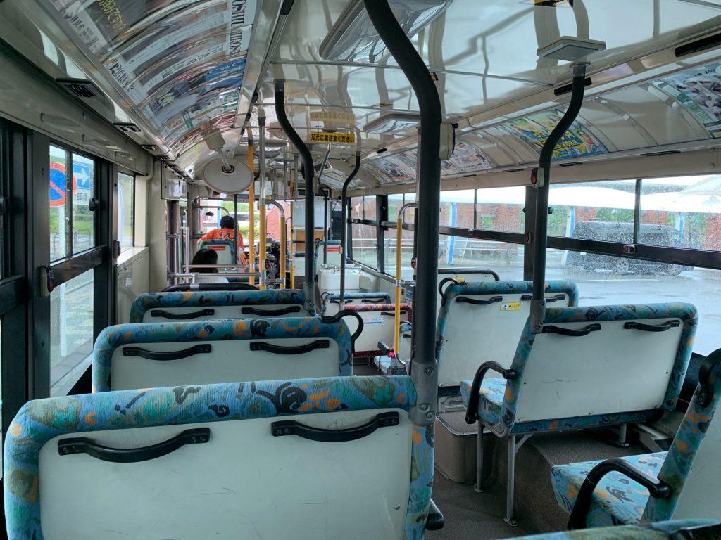 清水駅発のシャトルバス