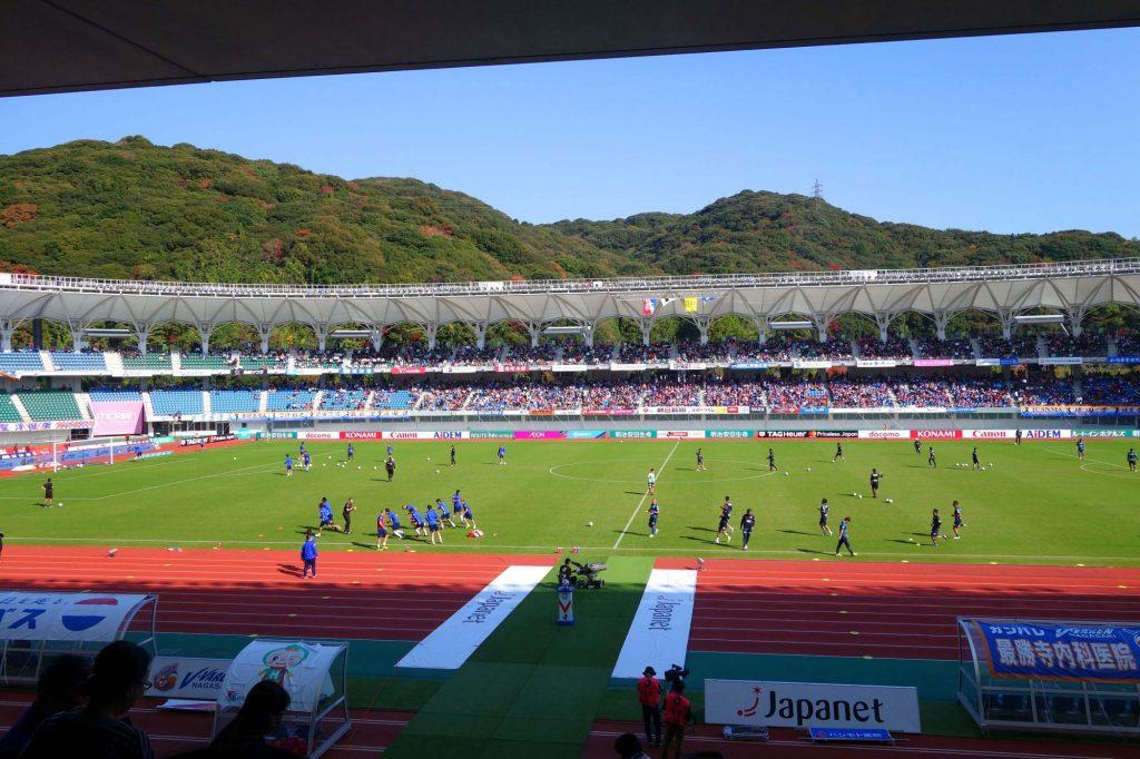 トランスコスモススタジアム長崎
