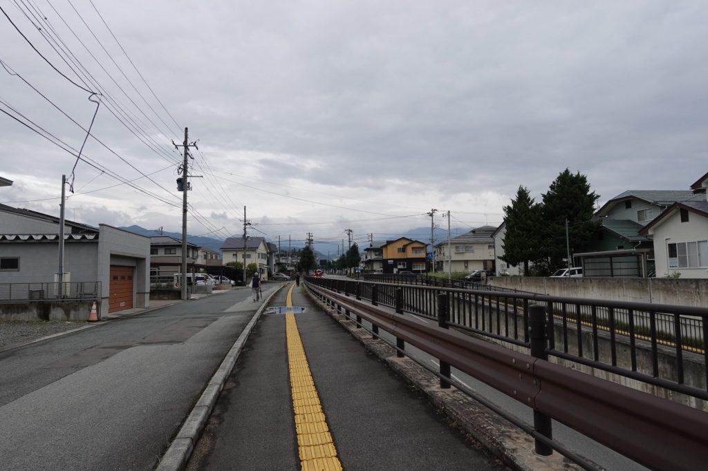 天童南駅からNDソフトスタジアム山形へ