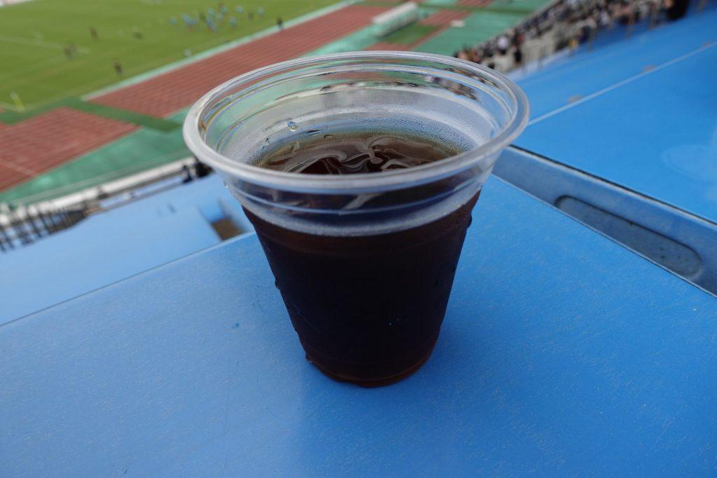 熊谷 スタジアムグルメの水出しコーヒー
