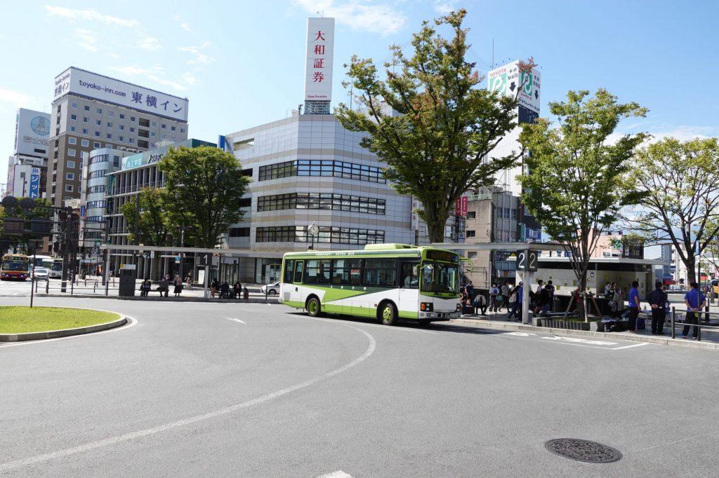 甲府駅南口バスターミナル
