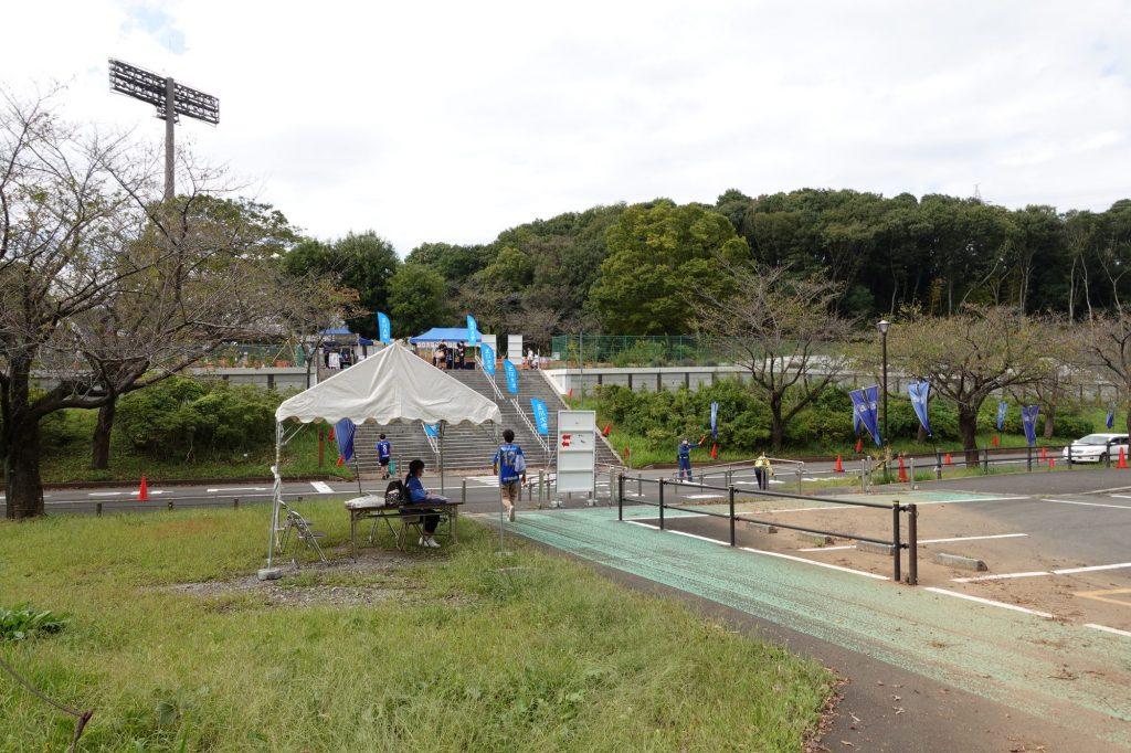 町田GIONスタジアムのバス乗り場