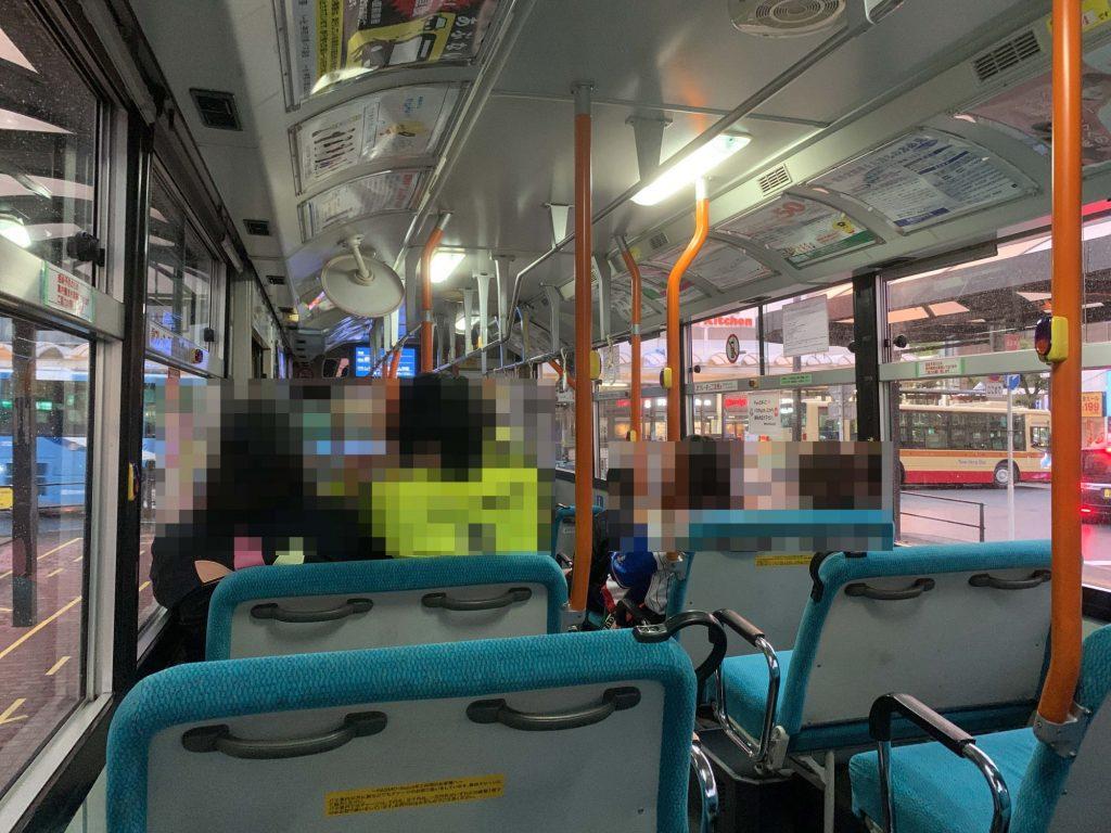 平塚駅からレモンガススタジアム平塚へのシャトルバス